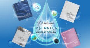 BỘ SƯU TẬP MẶT NẠ LỤA CAO CẤP JEAN D'ARCEL TRONG KÊ TOA