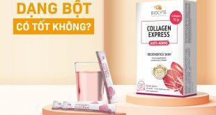 Uống Collagen dạng bột có tốt không?